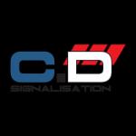 Logo CD SIGNALISATION -Realisation de logo et site internte Beauvais par OZIDEES STUDIO