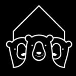 logo refuges des trois ours